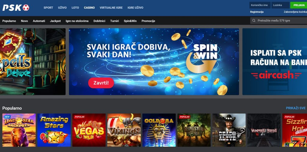 psk casino
