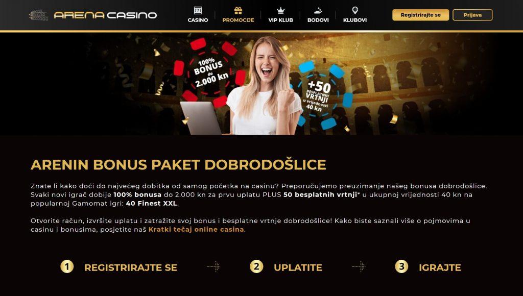 arena online casino